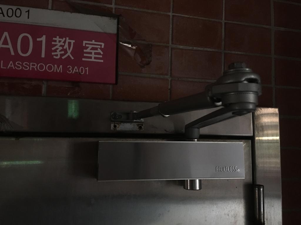 台中門弓器安裝維修