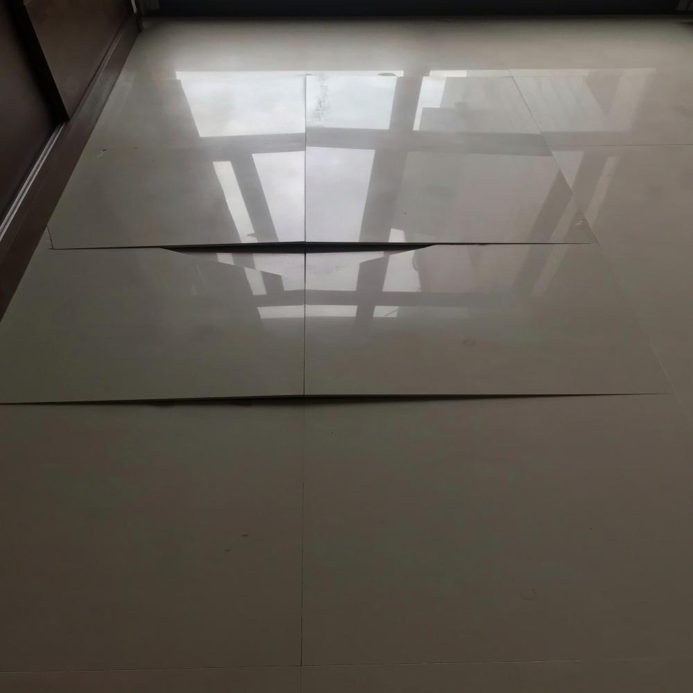 地磚隆起修繕-台北南港住家