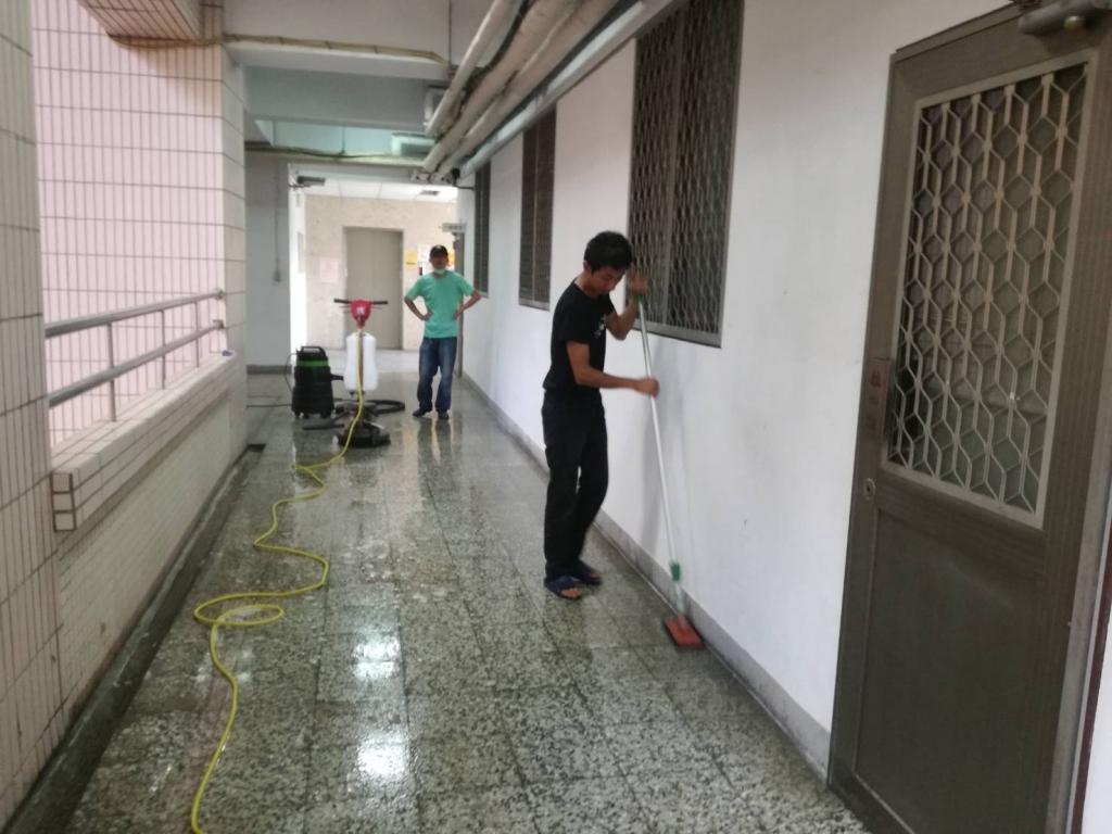 台中學校清潔