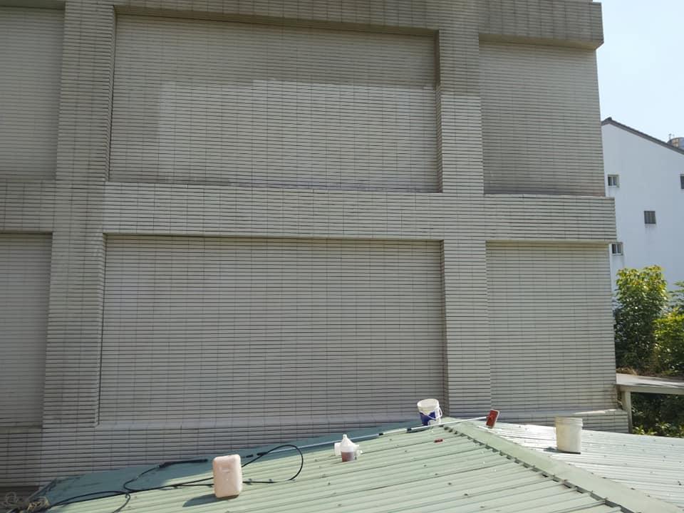 永春東路外牆清潔