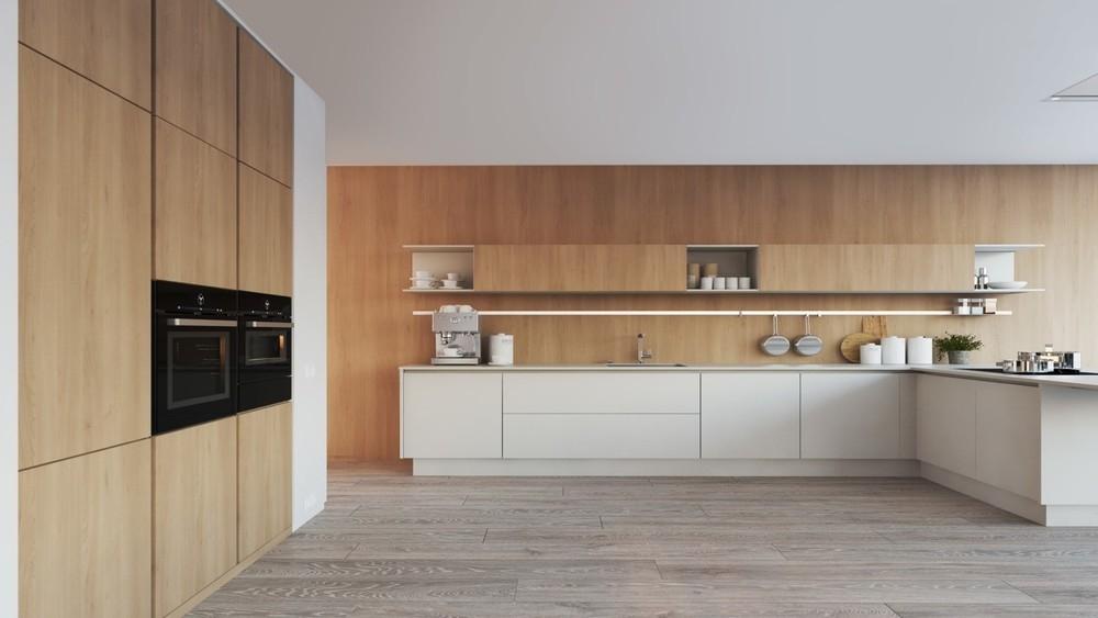 台中-清水張公館  廚櫃設計