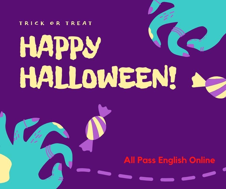 【每日一字】Happy Halloween