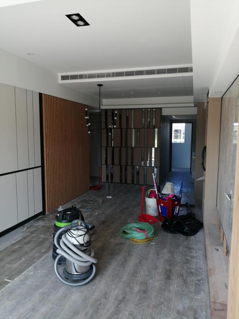 松竹路樣品屋兩房清潔