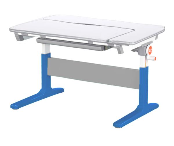 美隊旗艦105cm L型兒童學習成長桌+H8成長網背透氣椅
