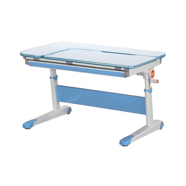 冰雪旗艦105cm L型兒童學習成長桌+H8成長網背透氣椅