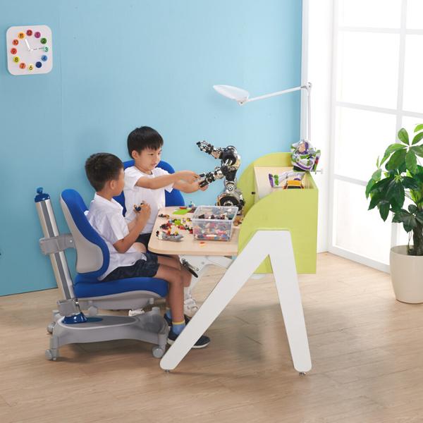 鋼琴架氣壓桌+H8成長網背透氣椅