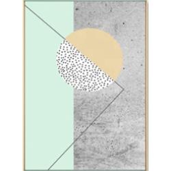靜謐綠掛畫(3幅1組