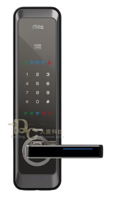 Milre(美樂) 6500S感應(悠遊/一卡通)卡+密碼+鑰匙/3in1電子鎖