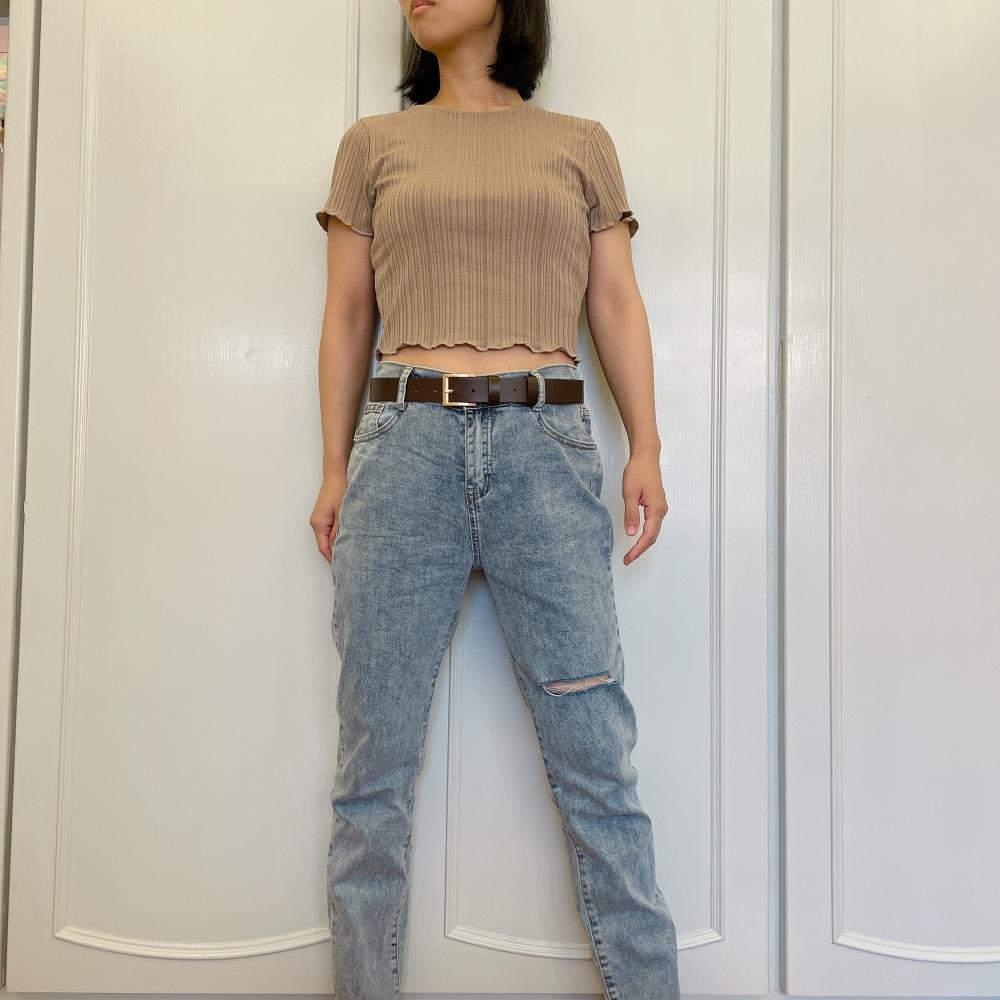 經典素面款真皮皮帶男生女生皮帶腰帶3公分寬共4色