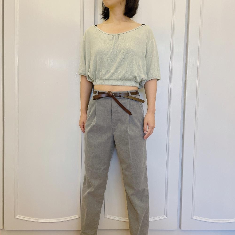 蝴蝶結設計款 真皮皮帶 細版女生皮帶 腰帶 共3色