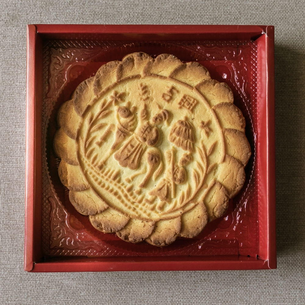 鳳梨酥大餅