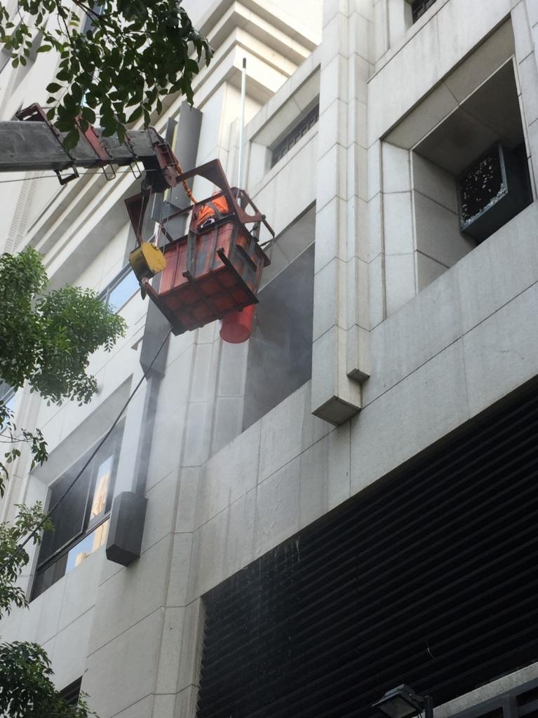外牆高空作業