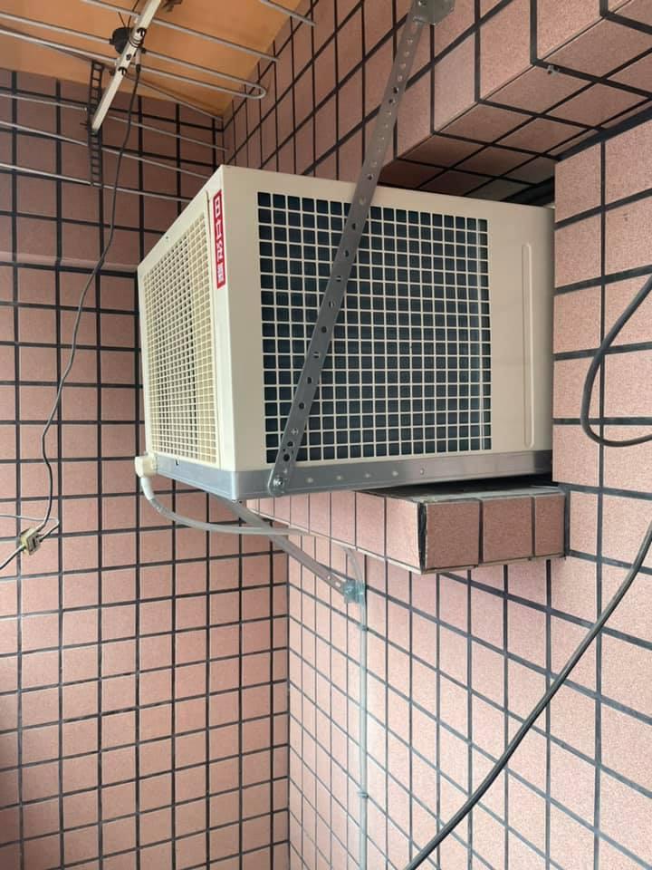 窗型冷氣安裝