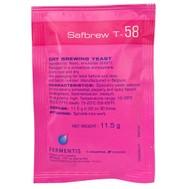 乾式酵母Fermentis Safbrew T-58 11.5 gramm