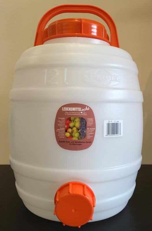 發酵桶 Fermenting vessel 12 Liter