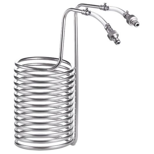 10L 智能糖化鍋螺旋冷卻管