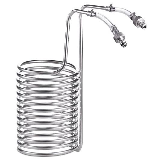 20L 智能糖化鍋螺旋冷卻管