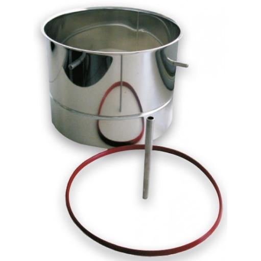 20L 智能糖化鍋半截麥芽管(10L)