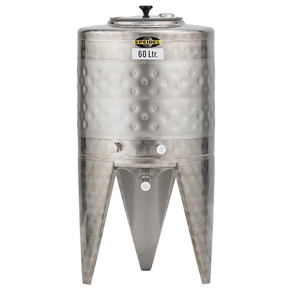 60L 外冷不鏽鋼發酵桶