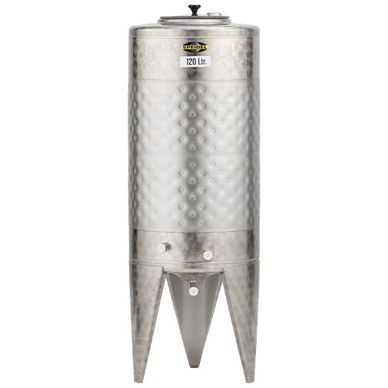 120L 外冷不鏽鋼發酵桶