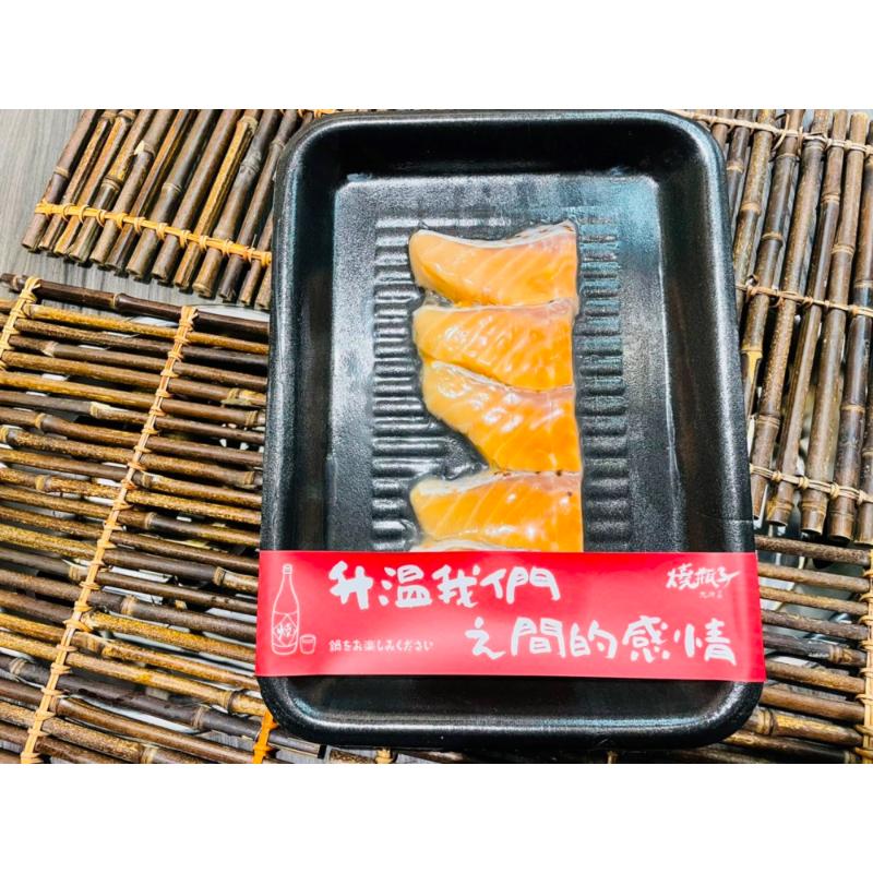 鮭魚魚片 約120-