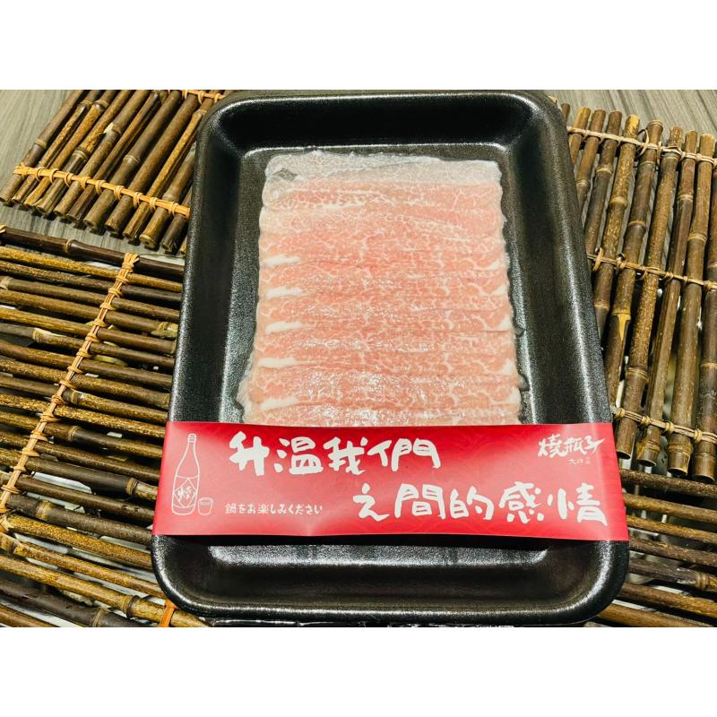 松阪豬肉片 約115