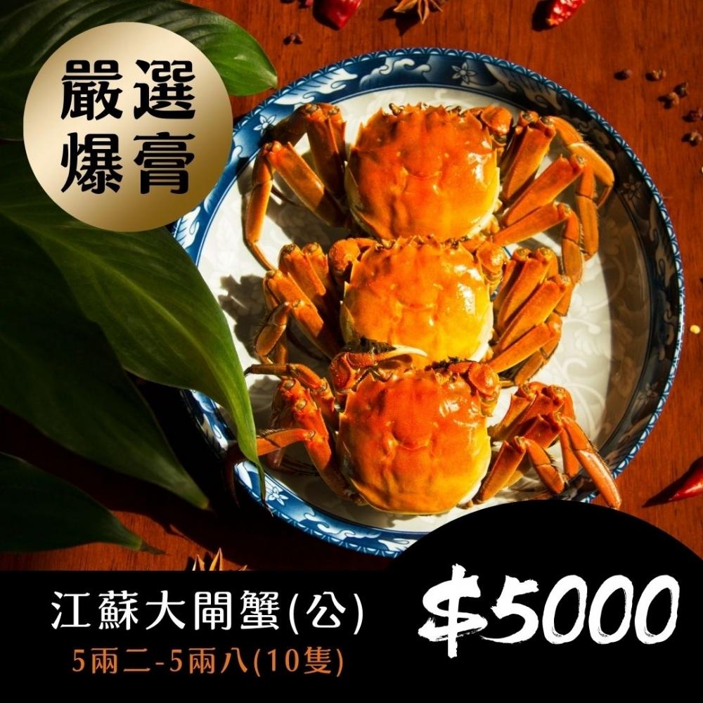 江蘇大閘蟹(公蟹)