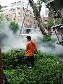 校園、社區鄰里病媒蚊、登革熱防治施工