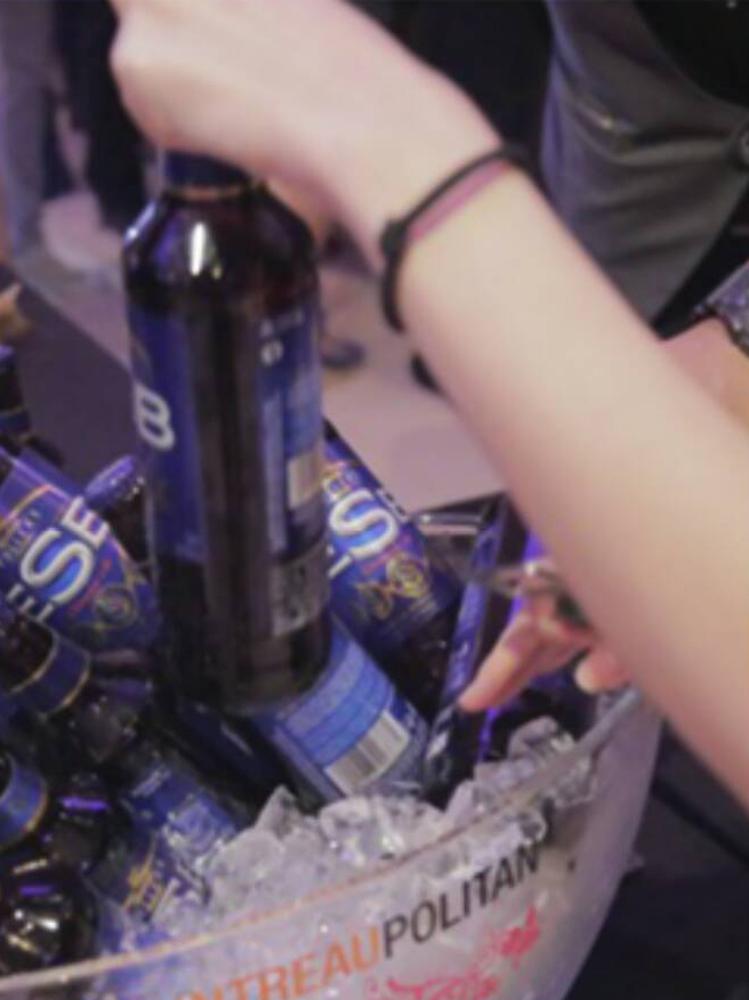 科技激光調酒秀