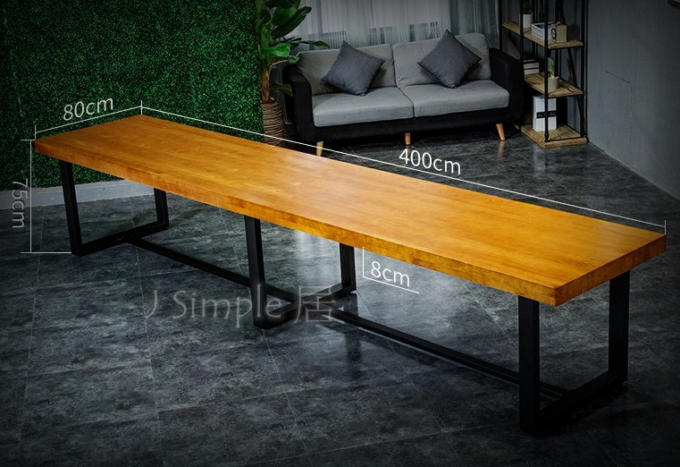 4米-霸氣會議長桌