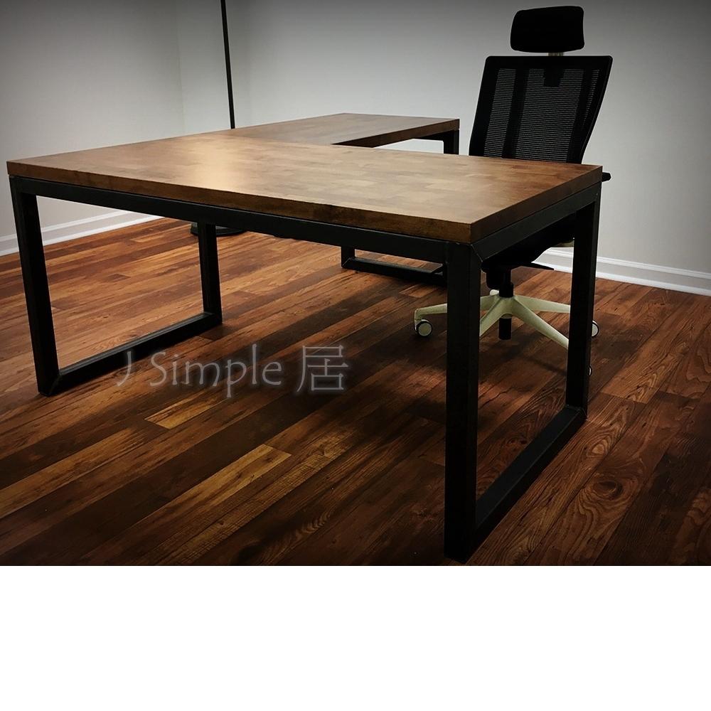 L型工作桌