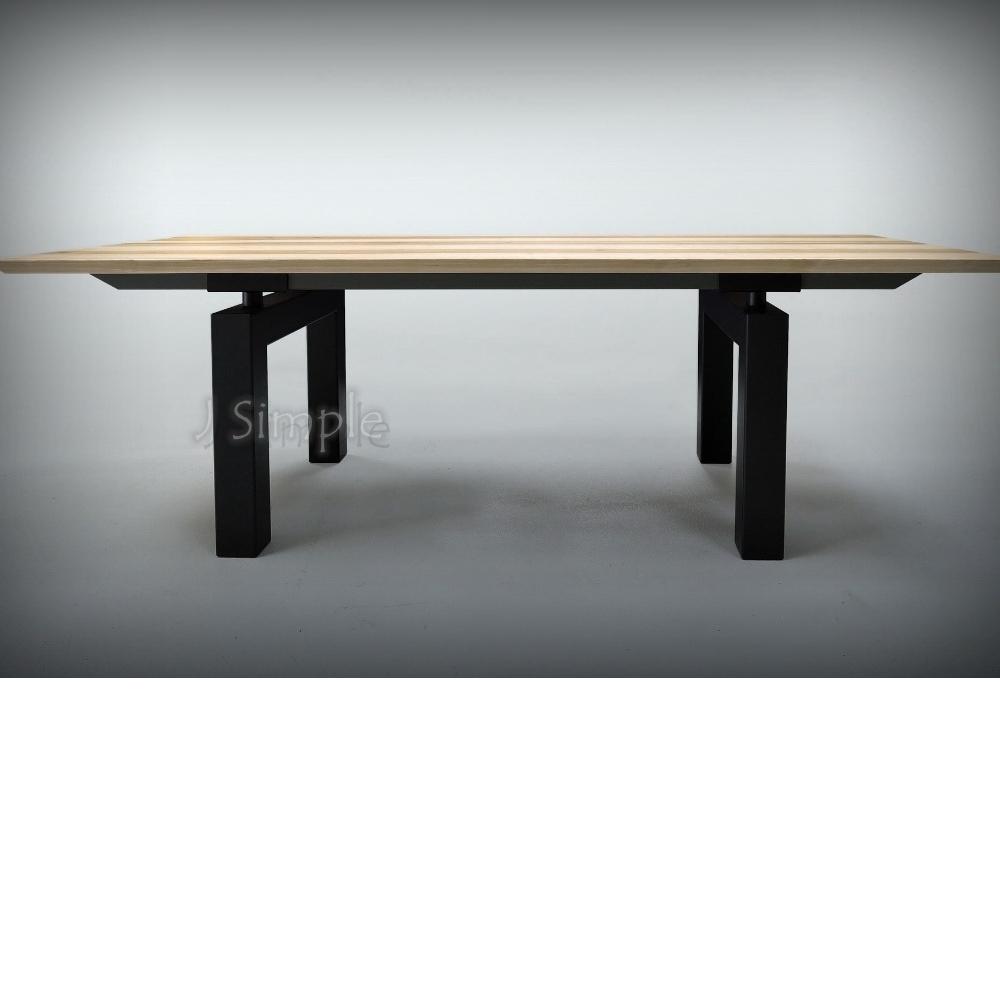 ㄇ型款實木桌