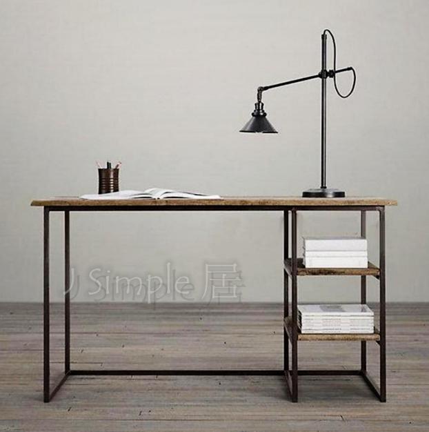 法式工業辦公桌