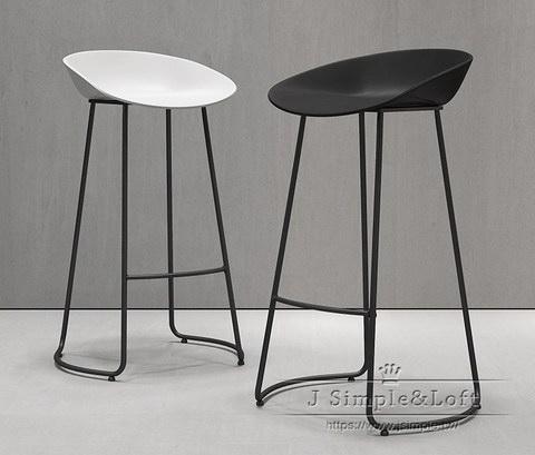 北歐創意設計吧椅