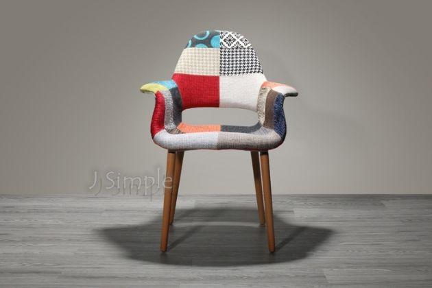 伊姆斯拼布餐椅