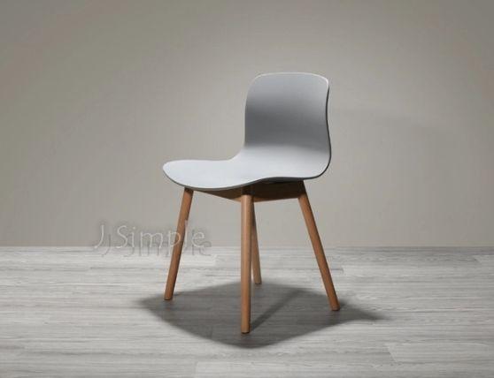 無扶手北歐設計餐椅