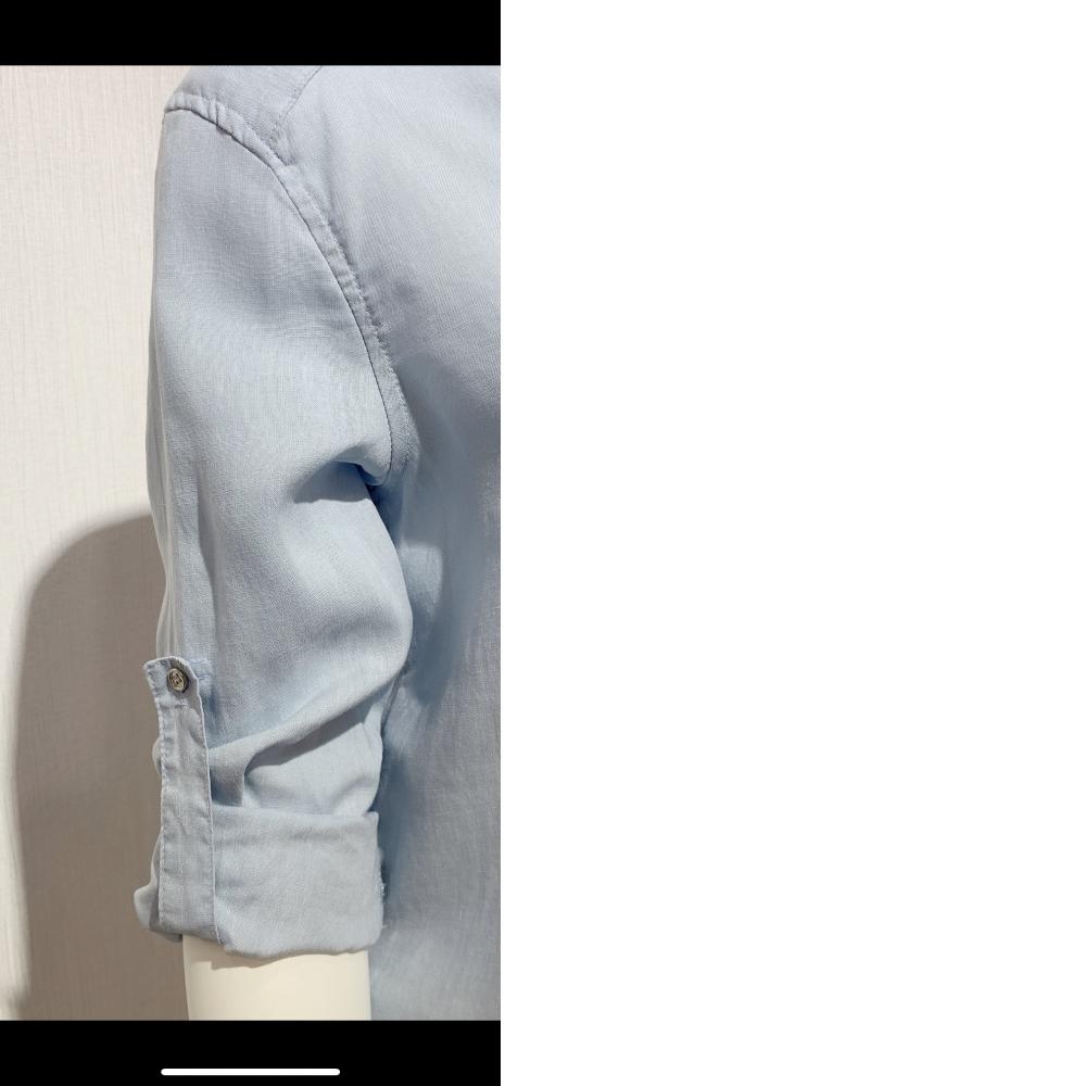 中長版棉麻上衣可當五分䄂或長䄂穿