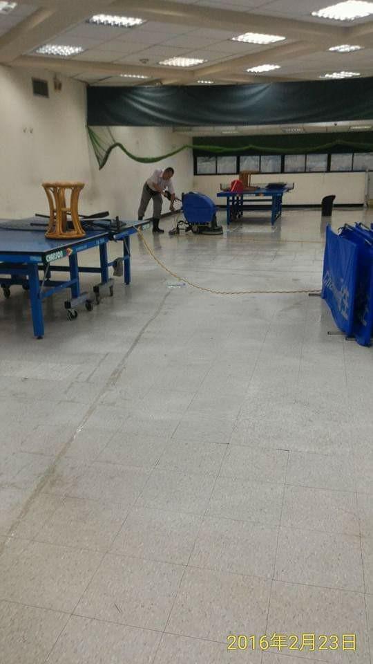 台北市民生活動中心清潔維護工程
