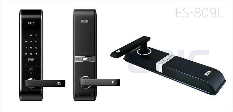 電子鎖 ES-809L三合一 /卡片密碼電子鎖