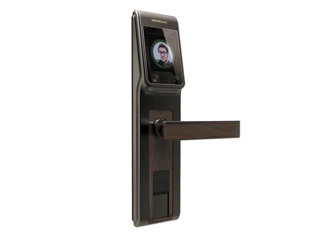 人臉辨識感應式門鎖