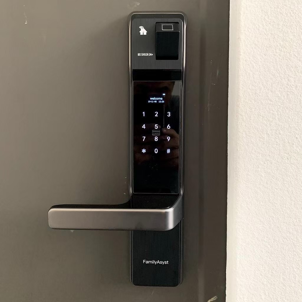 AiLock智慧管家電子鎖安裝