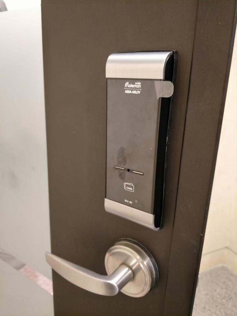 GATEMAN電子鎖安裝