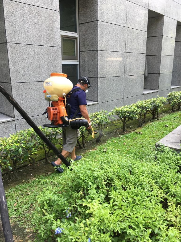 室外高壓清洗及環境消毒