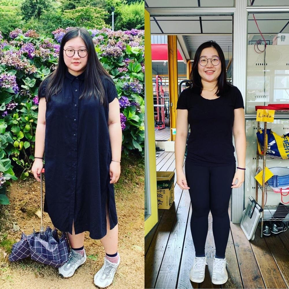 博仁減脂21公斤歷程