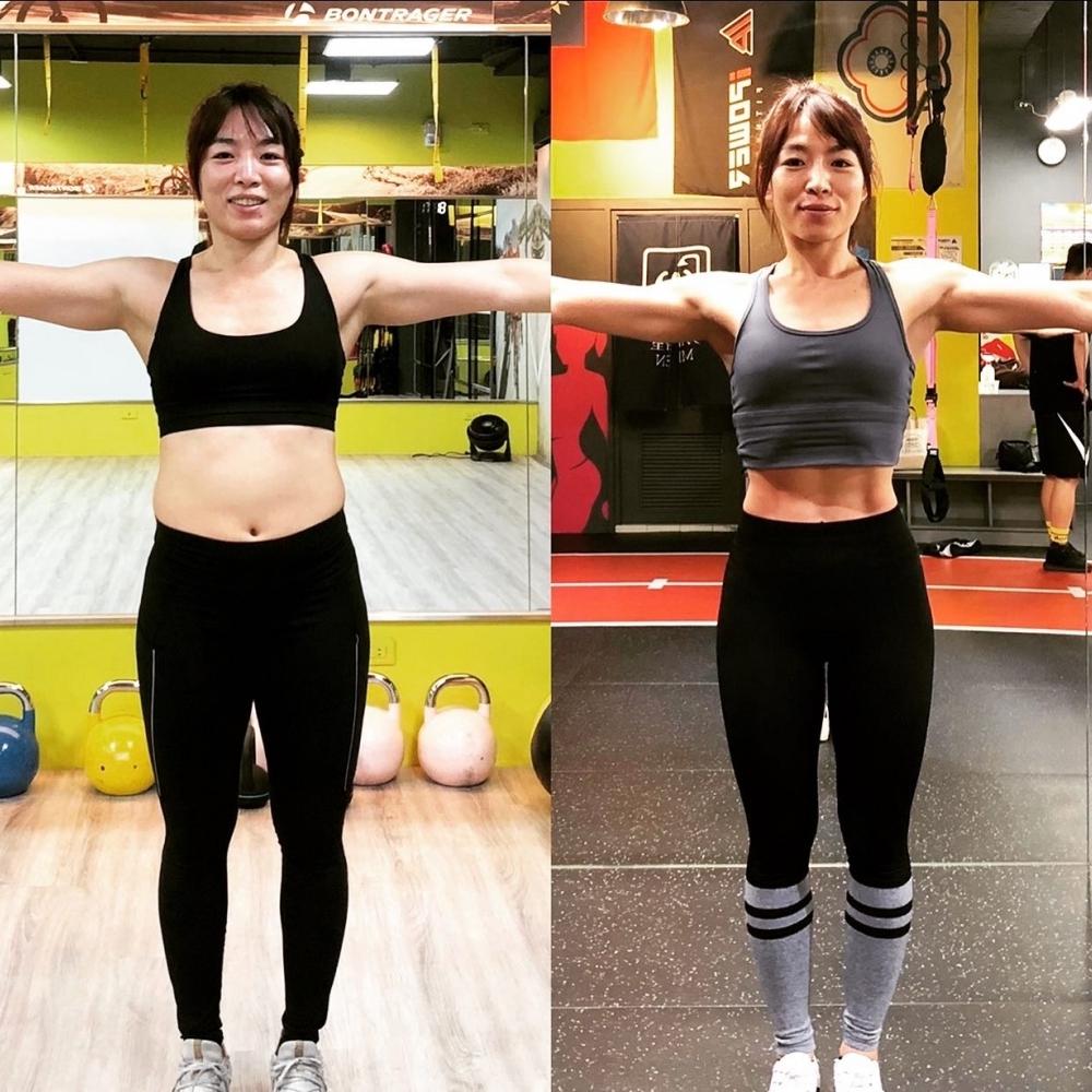 12週減去體脂11%