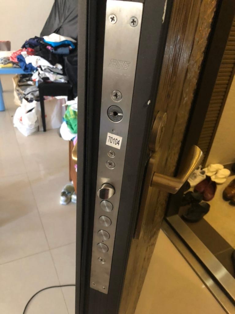 門鎖安裝實績