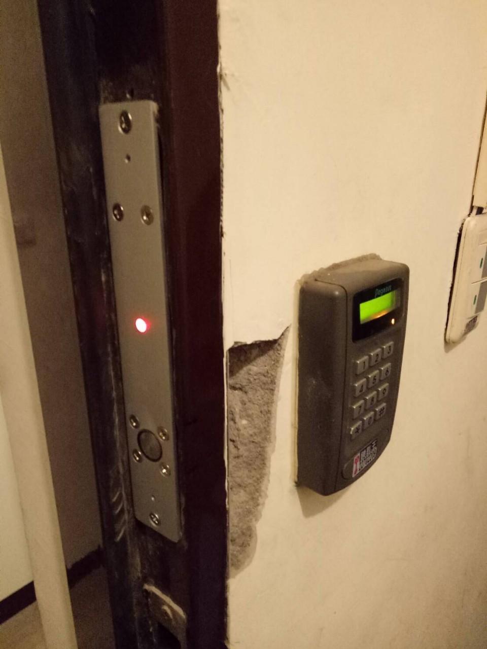 電子鎖安裝實績