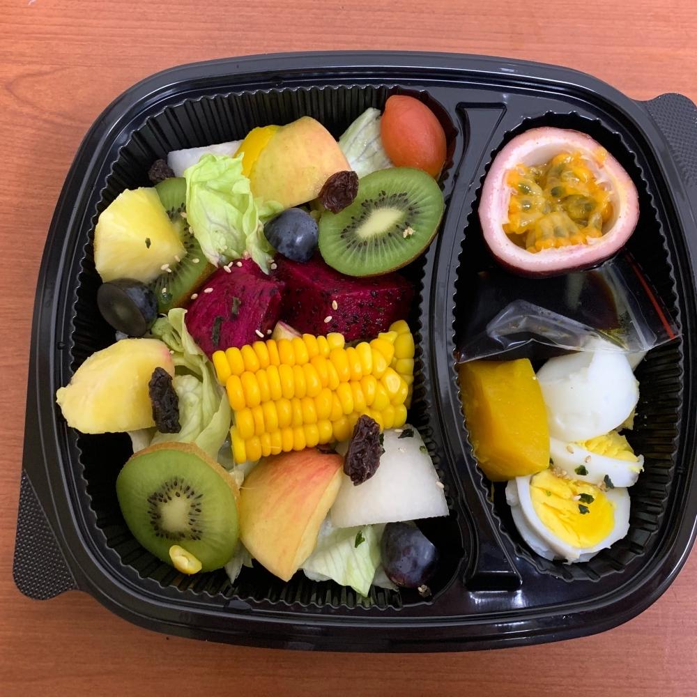 蔬果橄欖油醋餐盒