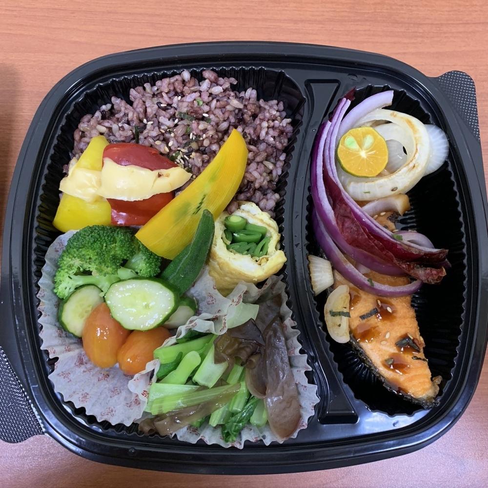 養生鮭魚餐盒