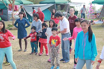 聖誕快樂 遊牧民族露營區